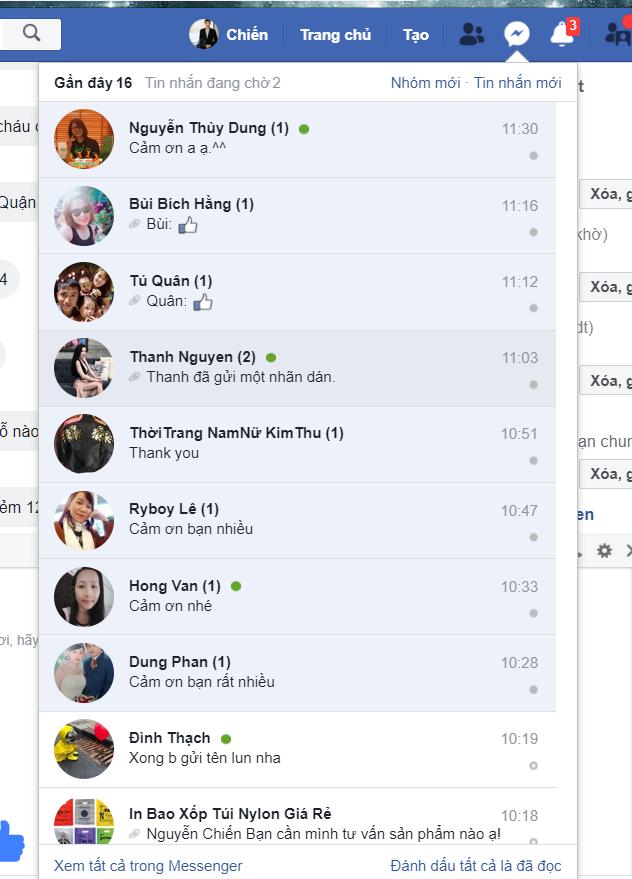 Case study gửi tin nhắn tăng tương tác hiệu quả - Phần mềm tự động gửi & spam tin nhắn bán hàng Facebook miễn phí