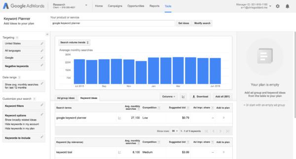 google quang cao tu khoa tim kiem - Giữa Google và Facebook, Doanh nghiệp của bạn nên lựa chọn kênh quảng cáo nào?