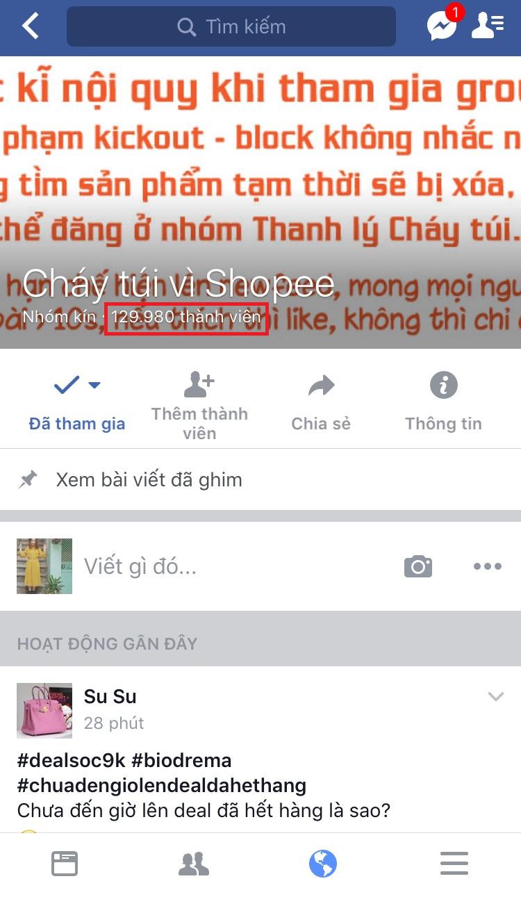 groupban hang shopee - 4 lý do bạn nên bắt đầu bán hàng online trên Group Facebook