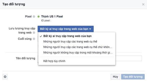 tep khach hang truy cap website - 4 cách để tạo tệp khách hàng tiềm năng để quảng cáo Facebook hiệu quả