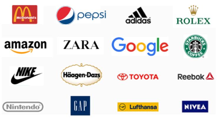 Logo những thương hiệu nổi tiếng trên thế giới
