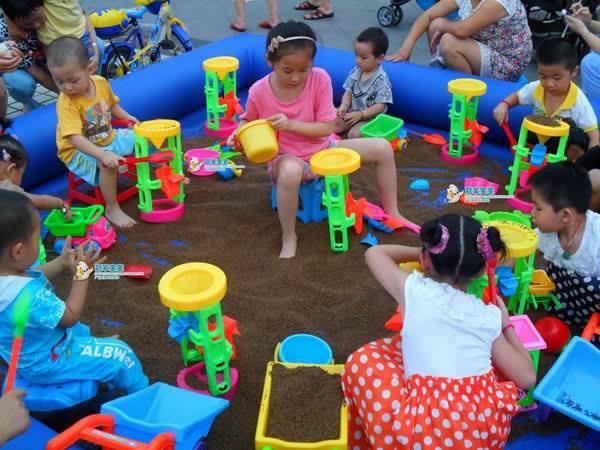 Chơi cát - Khu vui chơi trẻ em