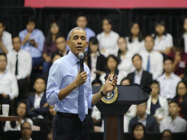Tổng thống Obama là bậc thầy hùng biện
