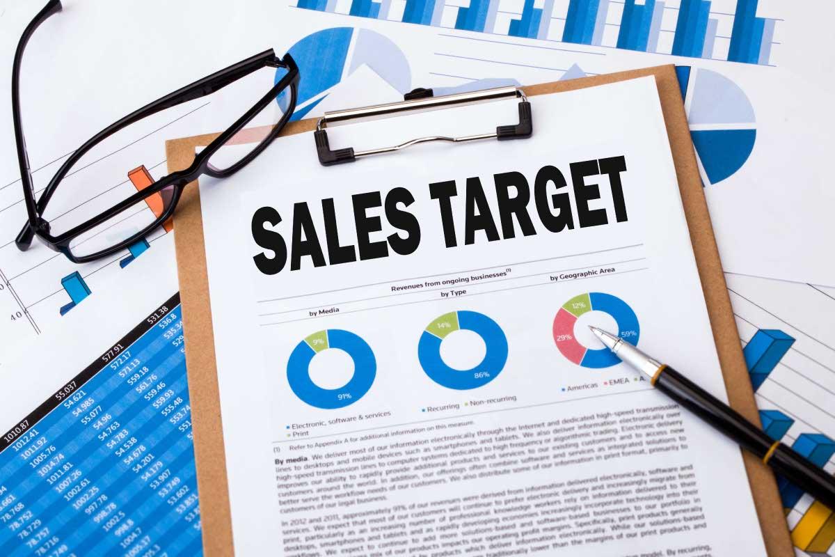 xác định mục tiêu bán hàng