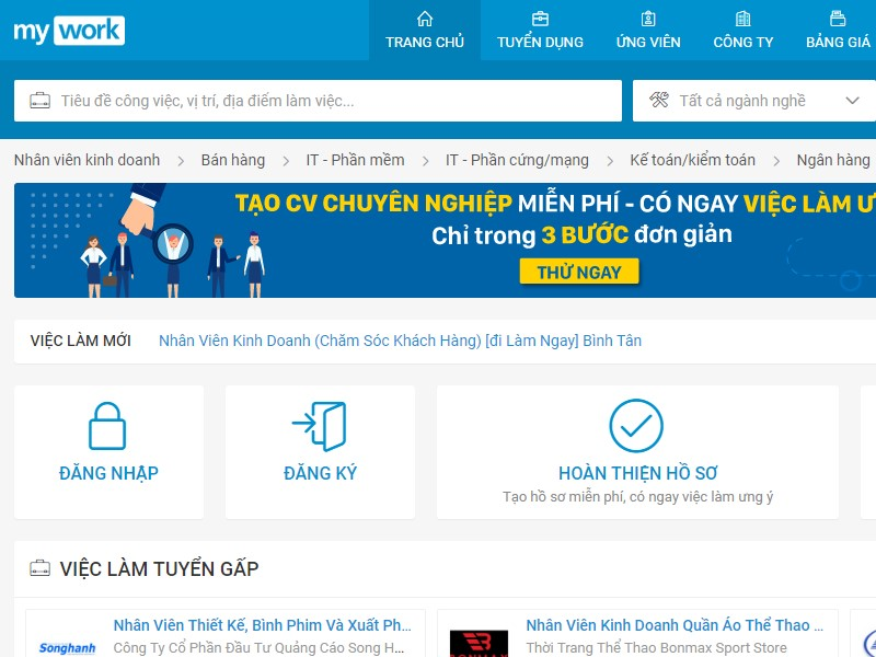 TOP 10 trang web tìm việc làm uy tín nhất Việt Nam năm 2019 2