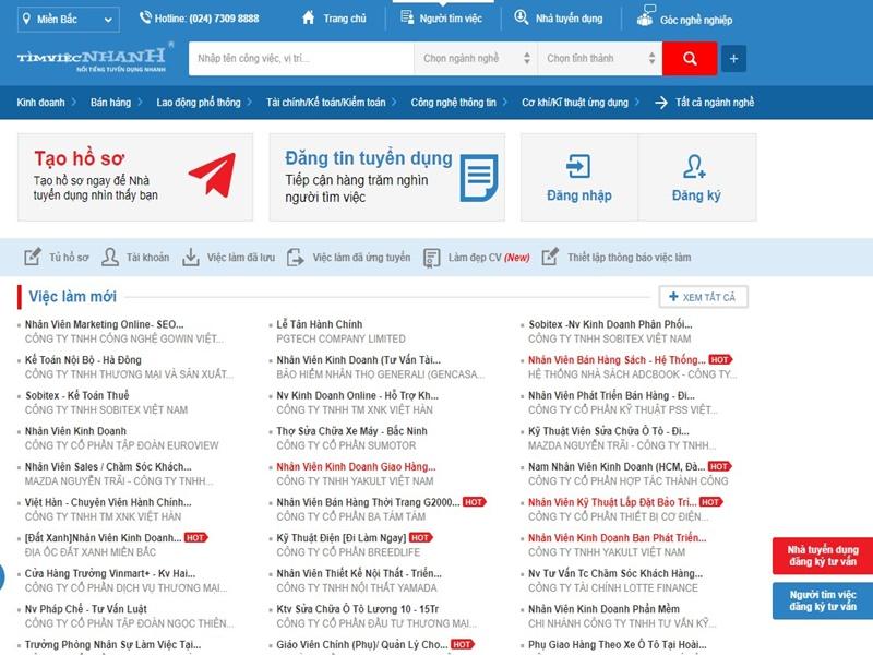 TOP 10 trang web tìm việc làm uy tín nhất Việt Nam năm 2019 3