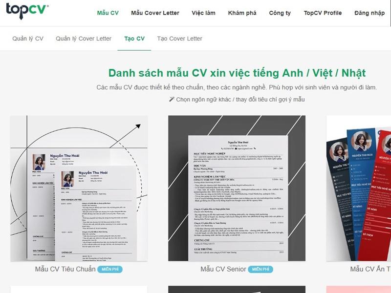 TOP 10 trang web tìm việc làm uy tín nhất Việt Nam năm 2019 7