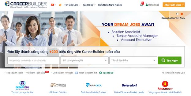 TOP 10 trang web tìm việc làm uy tín nhất Việt Nam năm 2019 4
