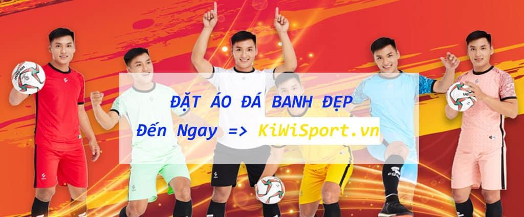 Đặt Áo Đá Banh Đẹp Không Logo Tại KiwiSport