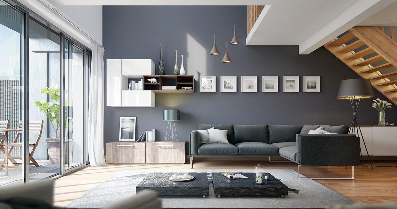 Màu sơn cần phù hợp với nội thất trong nhà
