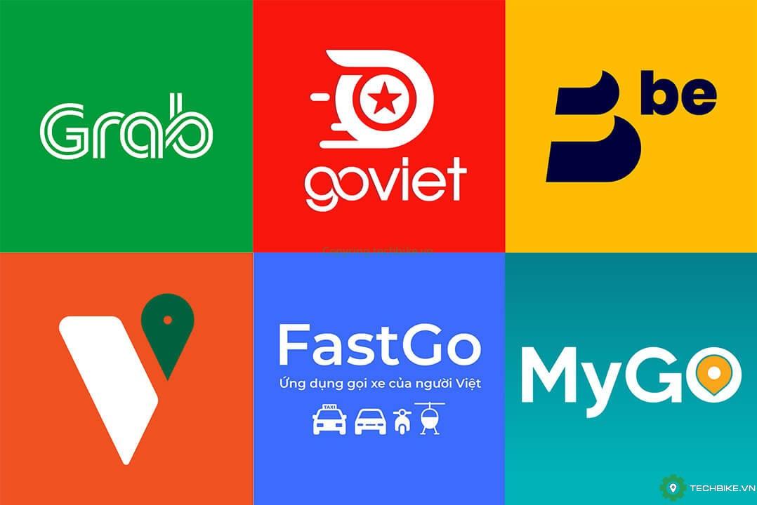 5 ứng dụng gọi xe công nghệ phổ biến nhất tại Việt Nam