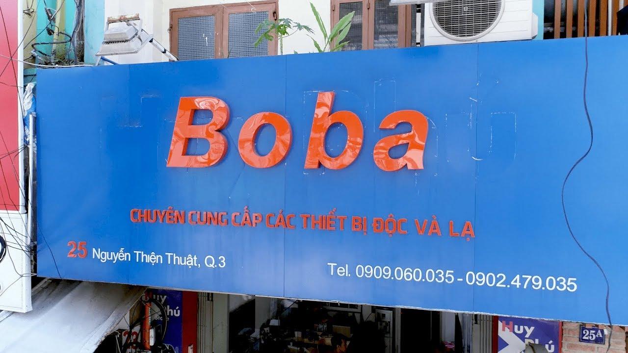 Boba.vn | Trung Tâm Thương Mại Điện Tử Chuyên Cung Cấp Các Sản Phẩm Công Nghệ Độc Và Lạ Tại Việt Nam - YouTube