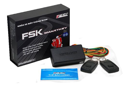 Khóa Smartkey chống cướp - chống trộm xe máy FSK 200 - VietTracker