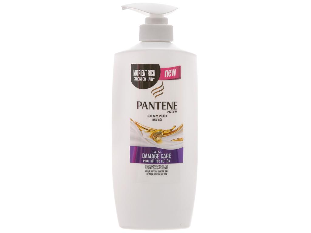 Dầu gội Pantene phục hồi tóc hư tổn 650ml sản xuât tại Thái Lan